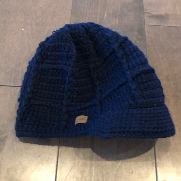 Women S Knit Hat With Brim